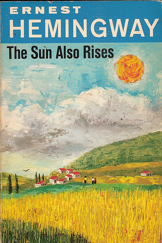 Image result for sun also rises book cover