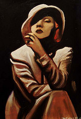 Marlene Dietrich, great pal of Hemingway