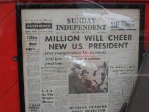 JFK elected 1960