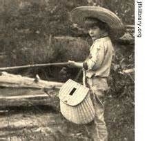 young Ernie fishing