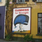 All over Ireland!  Guinness for Strength