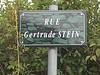 Rue Gertrude Stein, Paris