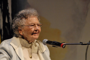 An older Lillian Ross