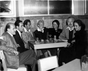Hem and Adriana, far right